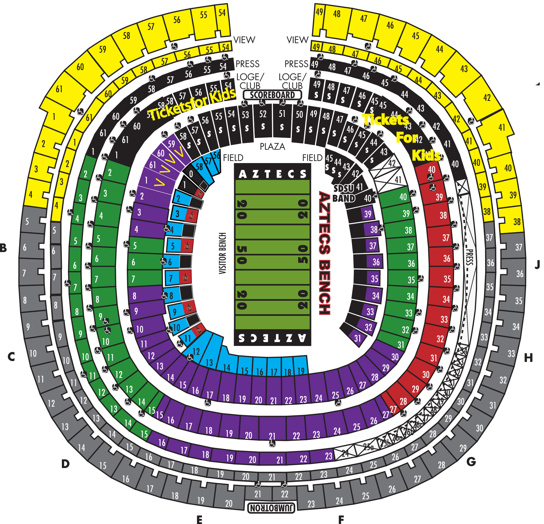 Qualcomm Seating Chart