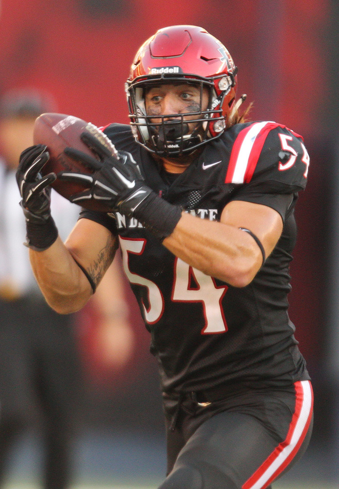 separation shoes e55fe 3dfc0 Calvin Munson Named MW Defensive Player of the Week - SDSU ...