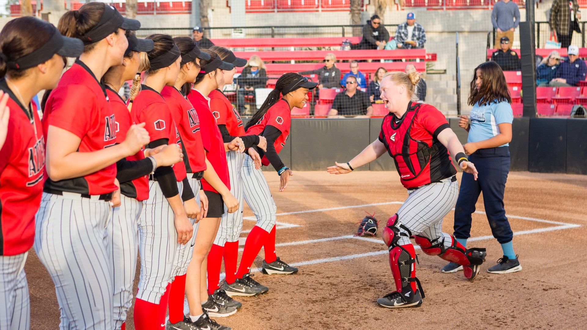 Softball Kicks Off Mw Play At Home Vs New Mexico Sdsu Athletics