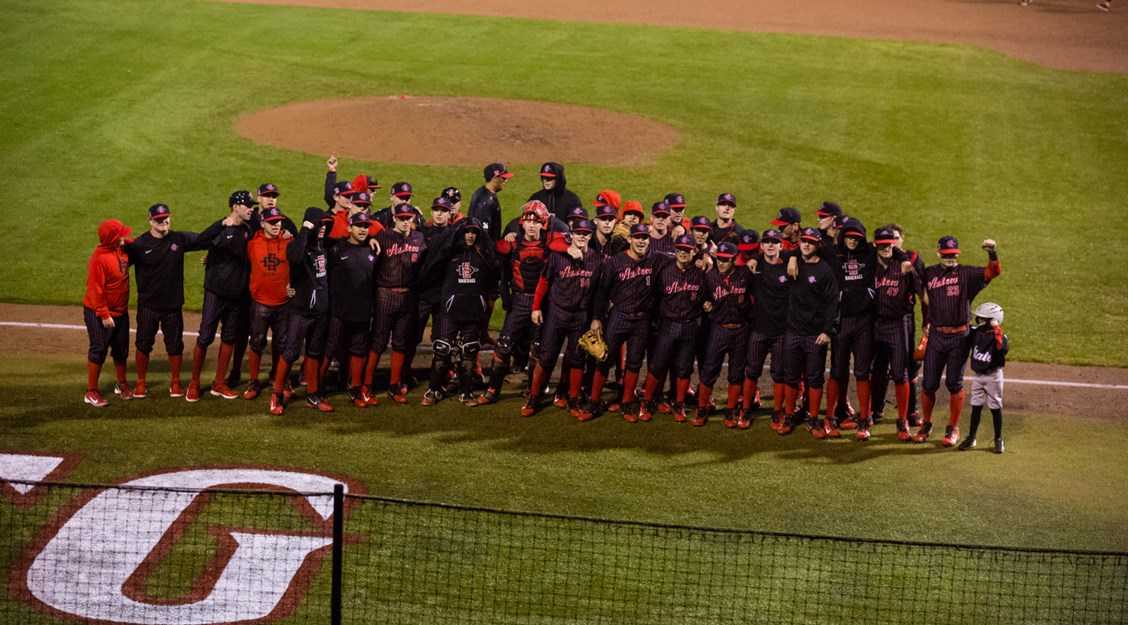 e12c76e92 15 February 2019  The San Diego State Aztecs baseball opens up the season  with a