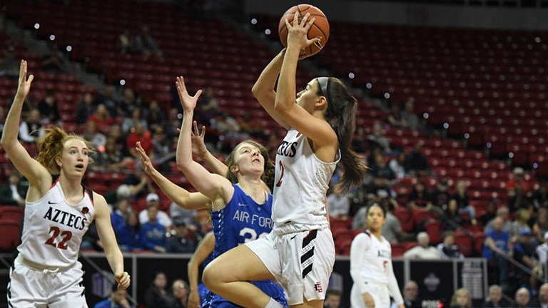 beb729fc588 Aztecs vs. Air Force. View Gallery. Women s Basketball v Nevada